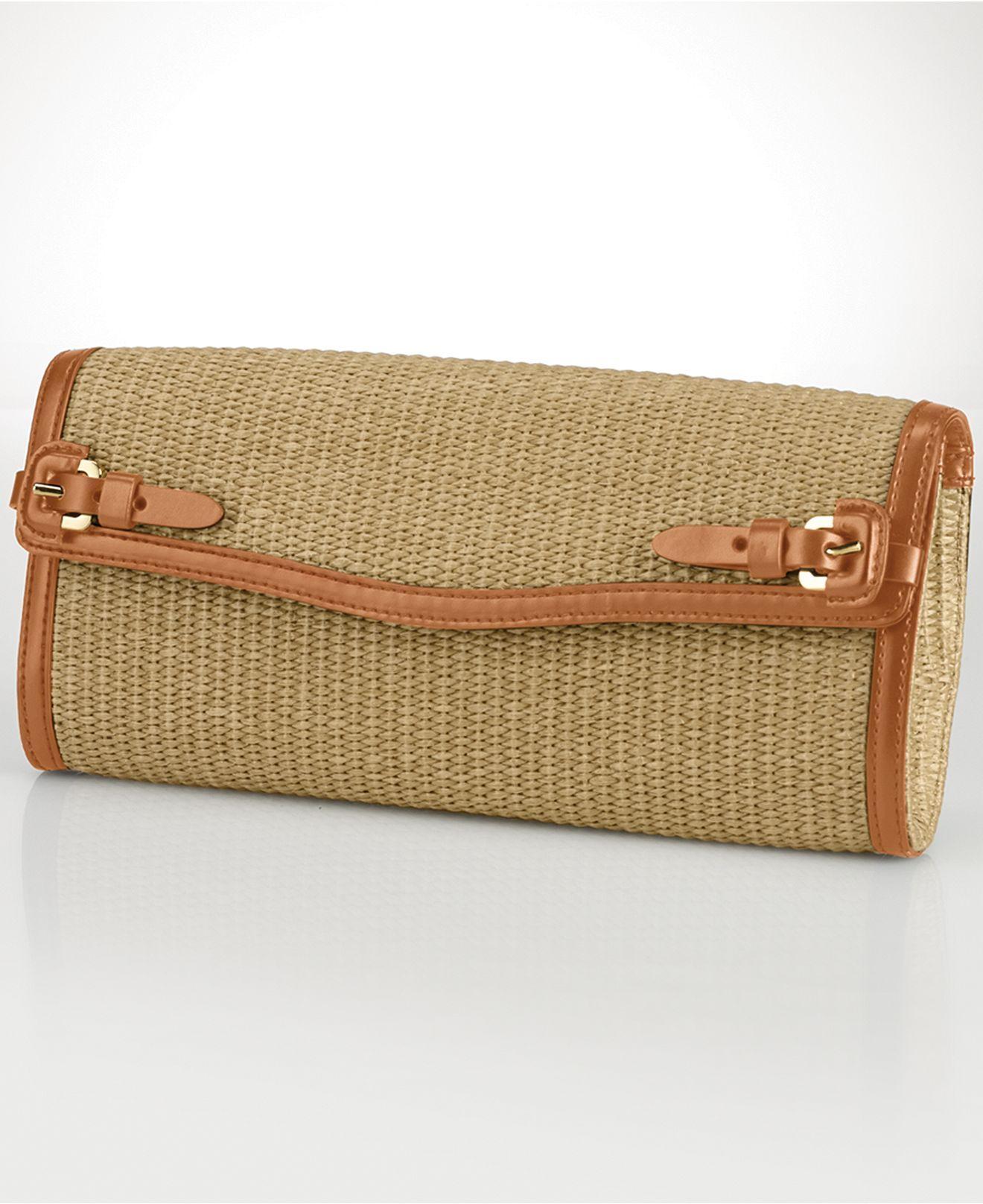 Wallet. Designer Bags. Nautical Theme. Sailor. Lauren Ralph Lauren Gipson  Clutch - Lauren Ralph Lauren - Macy s Clutch Handbags c77897ee353c7