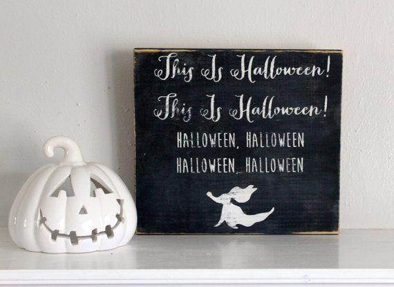 Halloween, Tim Burton, Halloween Sign, Halloween Decor, The - tim burton halloween decorations