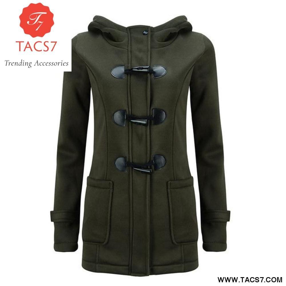 4b646243c86 Women Coat New Autumn Winter Basic European Style Outerwear