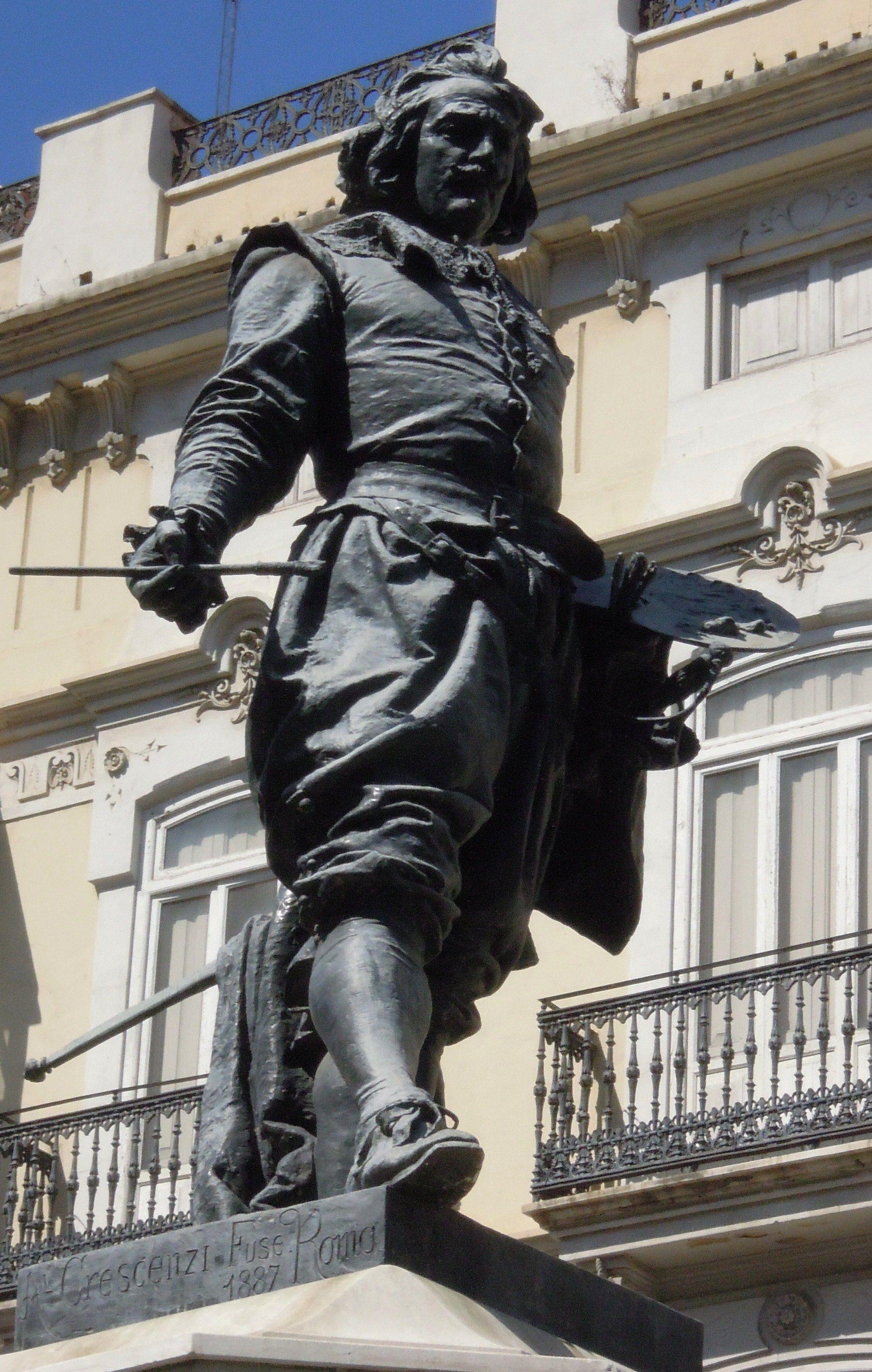Monumento al pintor José de Ribera, Valencia | Mariano Benlliure ...