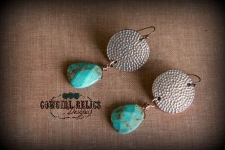 Sorrel Canyon Rustic Western Earrings