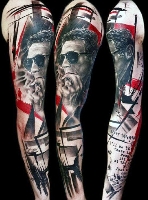 Abstract Tattoo Design For Men