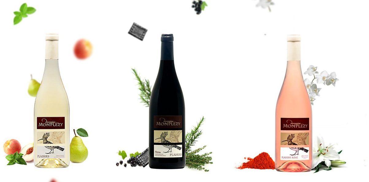 Drei Weine der Domaine Monplézy zu gewinnen