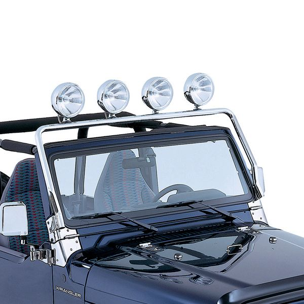 Windshield Frame Light Bar Jeep
