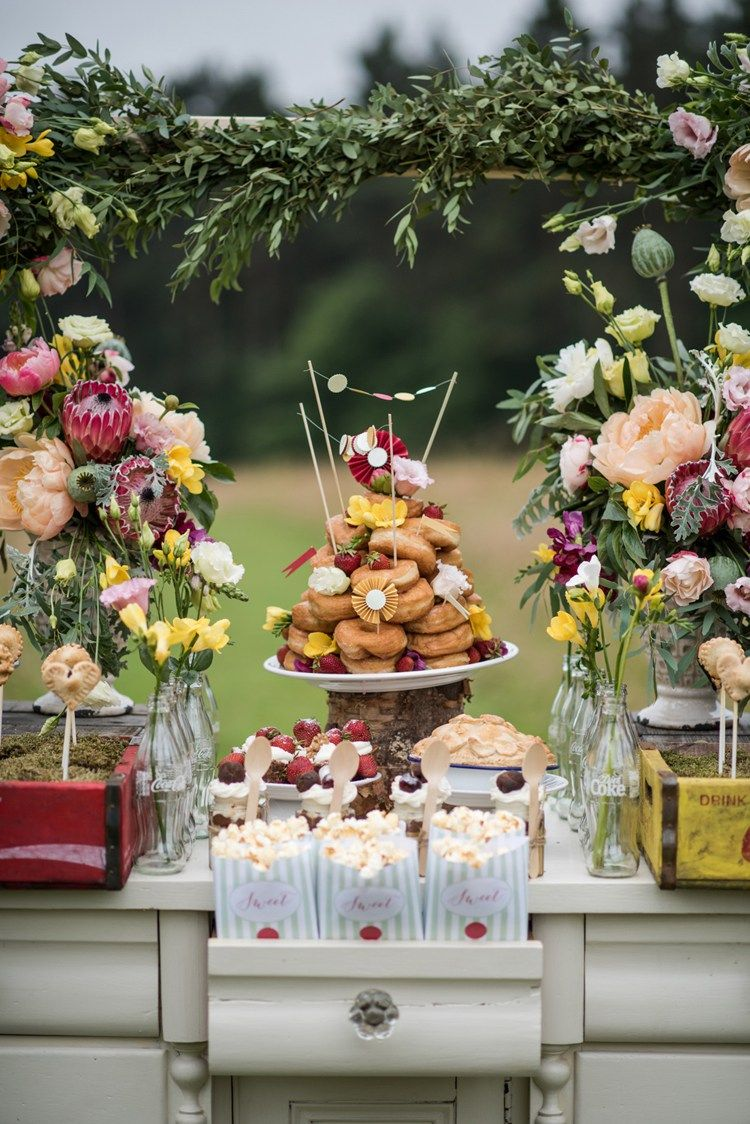 Whimsical & Soft Floral Meadow Wedding Ideas | Whimsical, Wedding ...