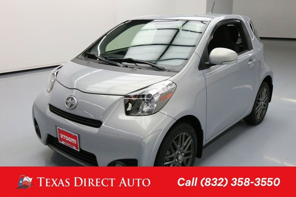 For Sale 2014 Scion Iq 10 Series 2dr Hatchback Texas Direct Auto 2014 10 Series 2dr Hatchback Used 1 3l I4 16v Automatic Fwd Hatchback Scion Vehicle Shipping