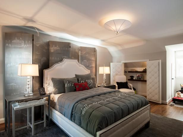 Tropical Bedrooms From Kim Smart Designers Portfolio 2376 Home Garden Television Gray Master Bedroom Burgundy Bedroom White Wall Bedroom