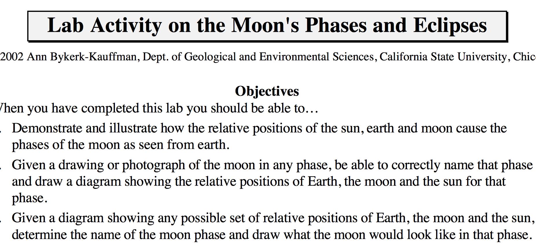 Lunar Eclipse Lab S Ips Cms Lib8