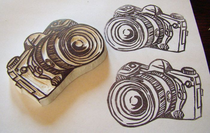 MaryJanes and Galoshes: Carving Your Own Stamps
