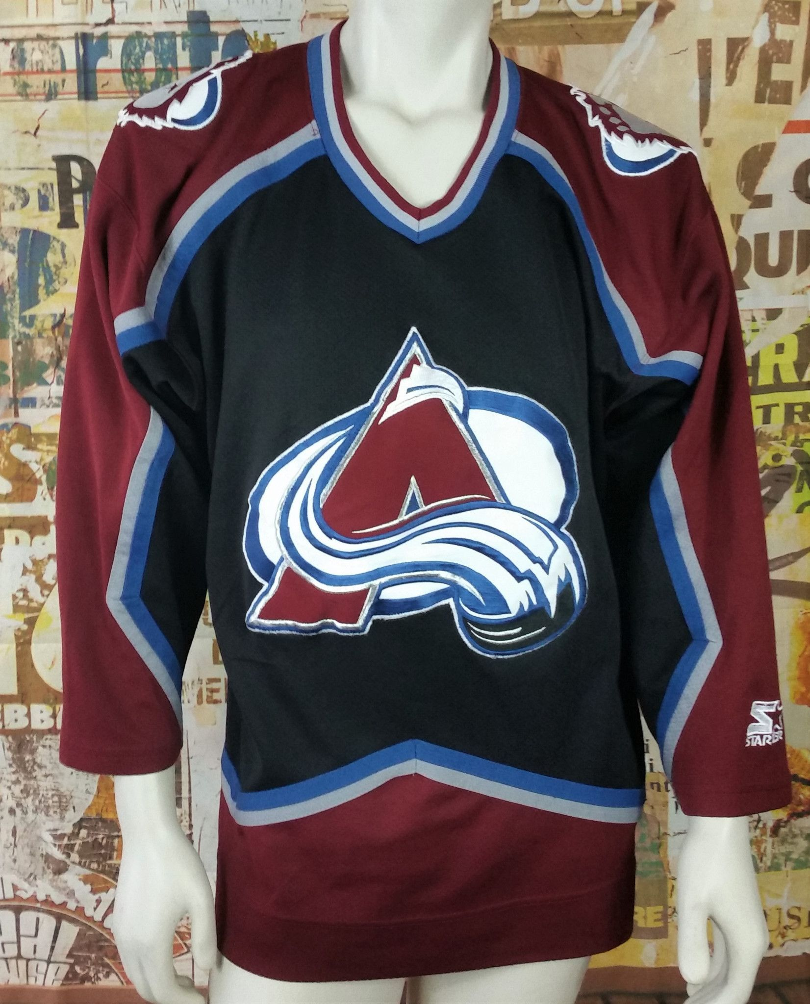 wholesale dealer 3d828 10b94 discount code for colorado avalanche old jersey 83e74 ab8fc