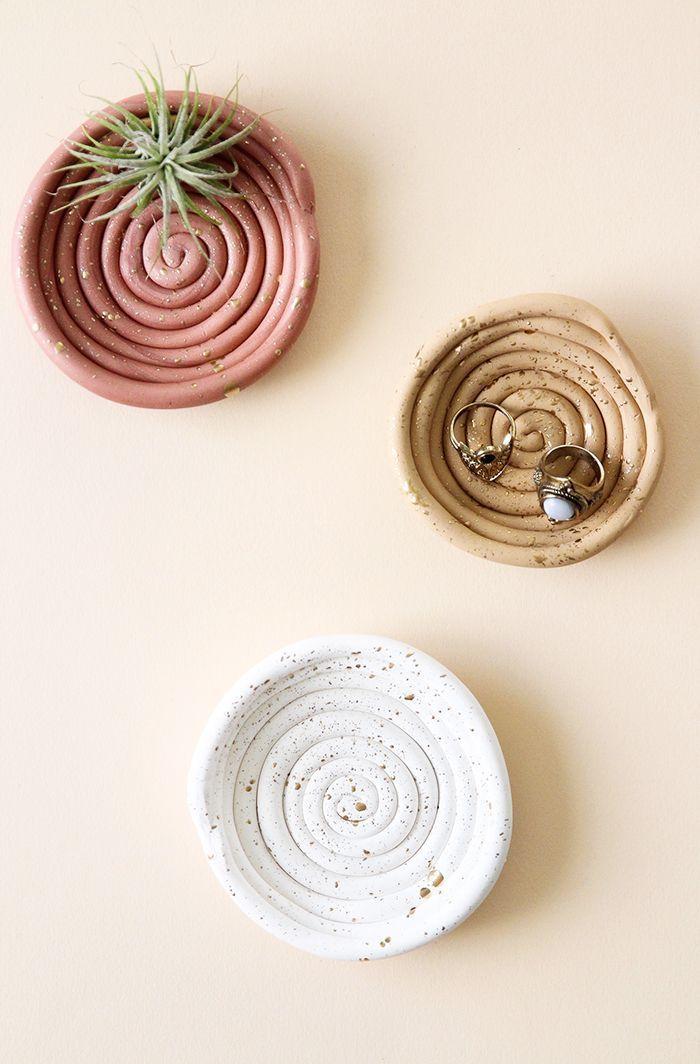 DIY Clay Ring Dish | BlissMakes