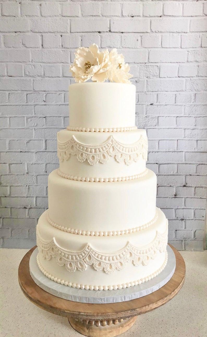 30++ Four tier wedding cake trends