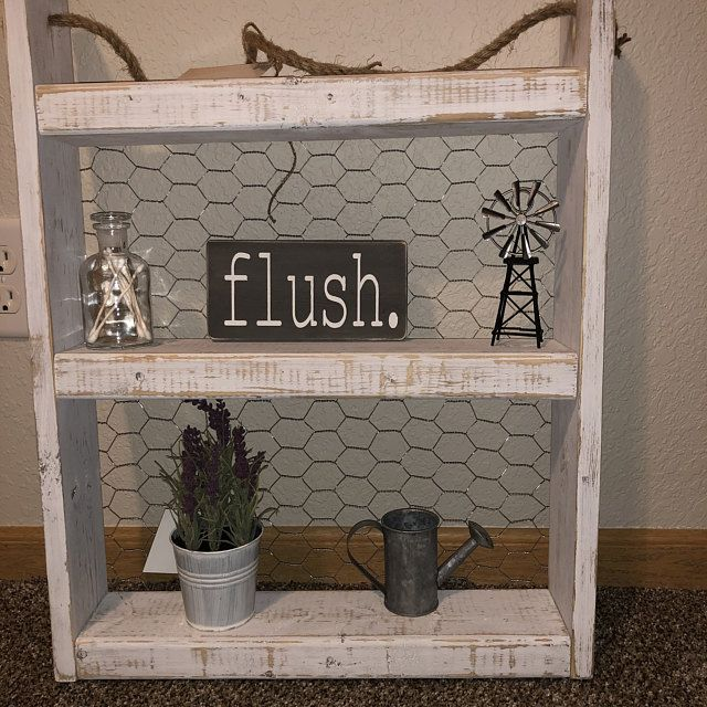 Farmhouse Style Shelves Set of two Chicken Wire Shelves | Etsy