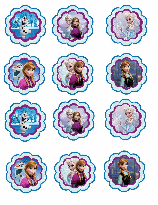 Frozen Toppers para Imprimir Gratis  Ideas y material gratis