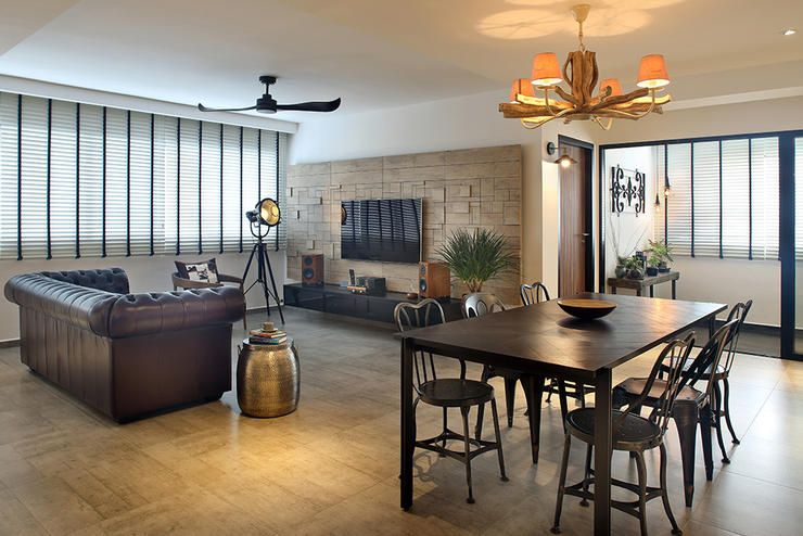 5 Ways To Combine Your Living And Dining Space Living