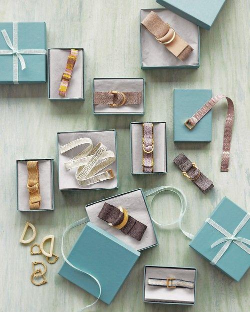 Adorable Ribbon Bracelets. So easy!