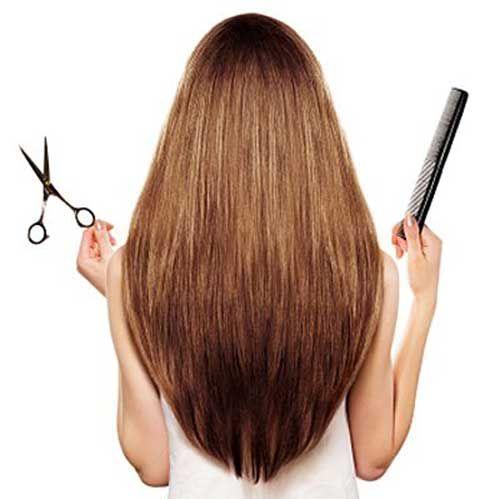 Choppy Layered Hair