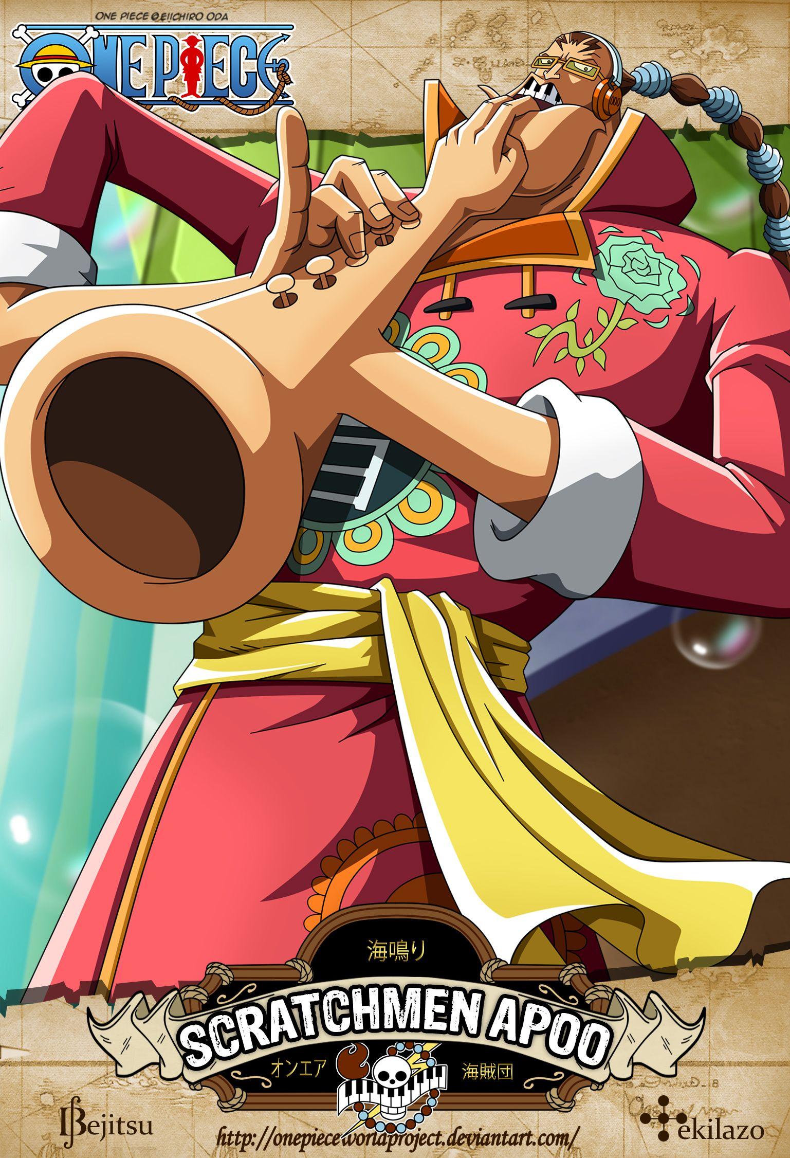 One Piece - Scratchmen Apoo by OnePieceWorldProject.deviantart.com on @DeviantArt