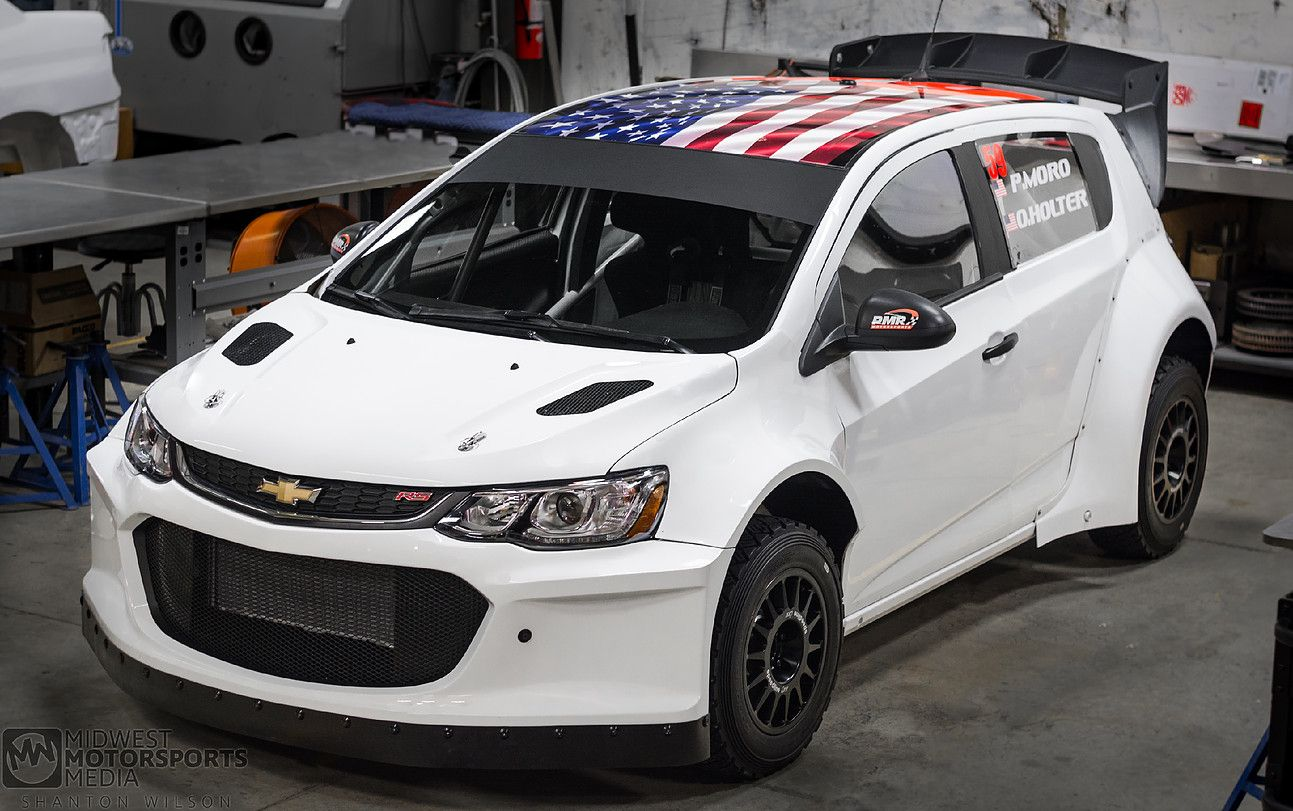 Awd Chevy Sonic With A Ls3 V8 Chevy Sonic Chevrolet Sonic Rally Car