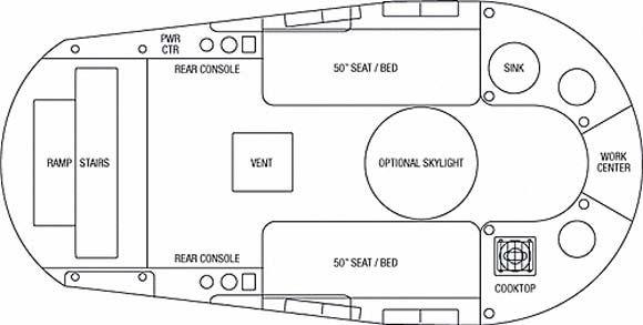 Airstream Basecamp Floorplan 162 Long