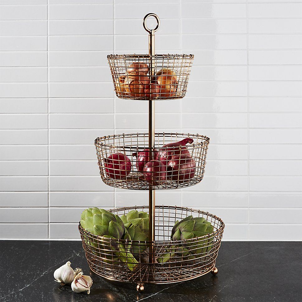 Kitchen Countertop Fruit Storage