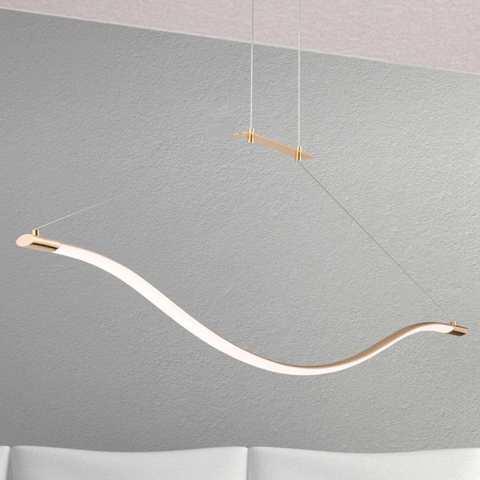 Gouden Led Pendellamp Alen Led Hanglamp Lampen