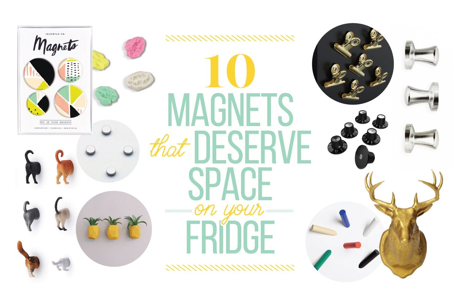 10 Magnets That Deserve Space on Your Fridge — Shopping