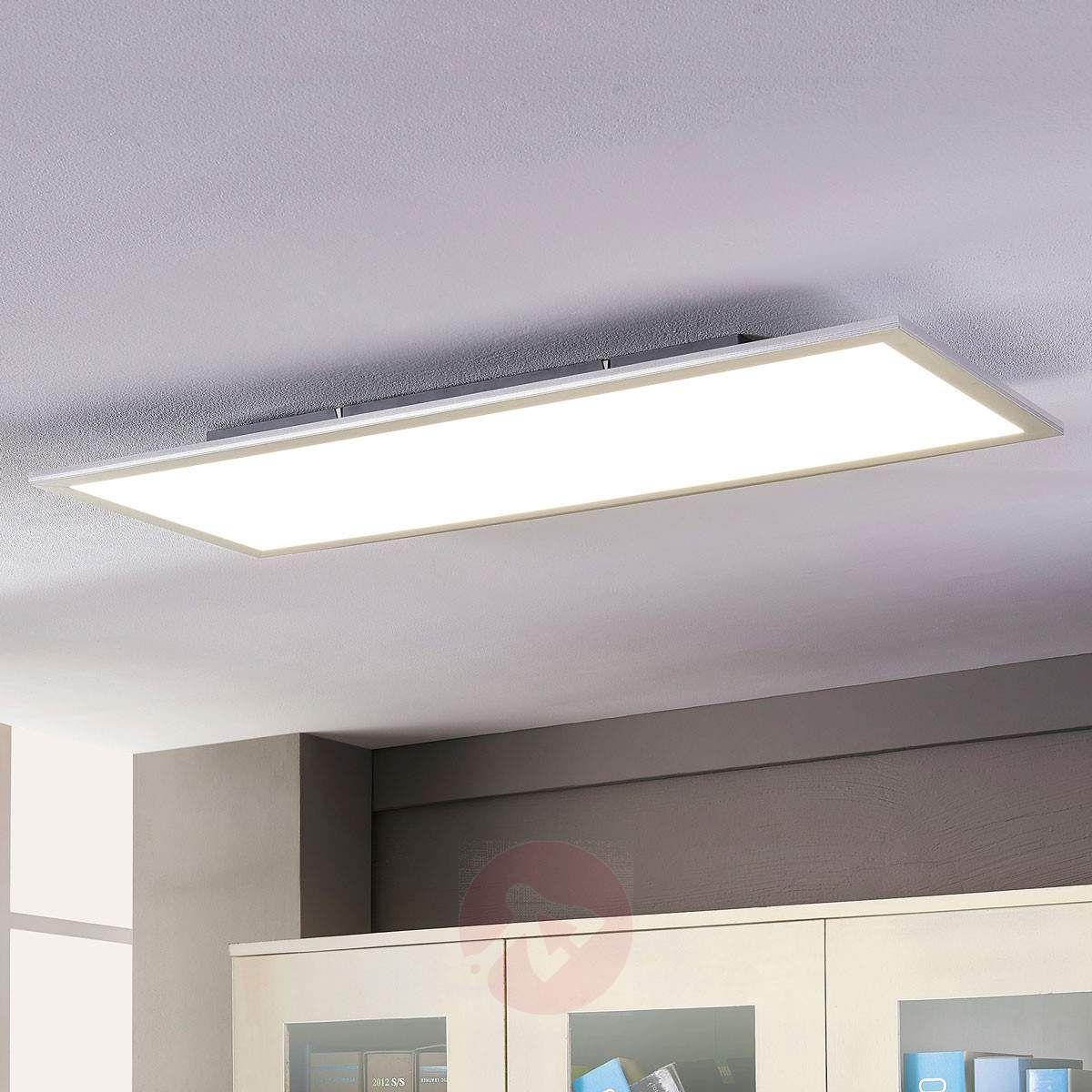 Lindby Livel Led Panel 4 000 K 120 Cm X 30 Cm Kitchen Ceiling Lights Ceiling Lights Led Panel