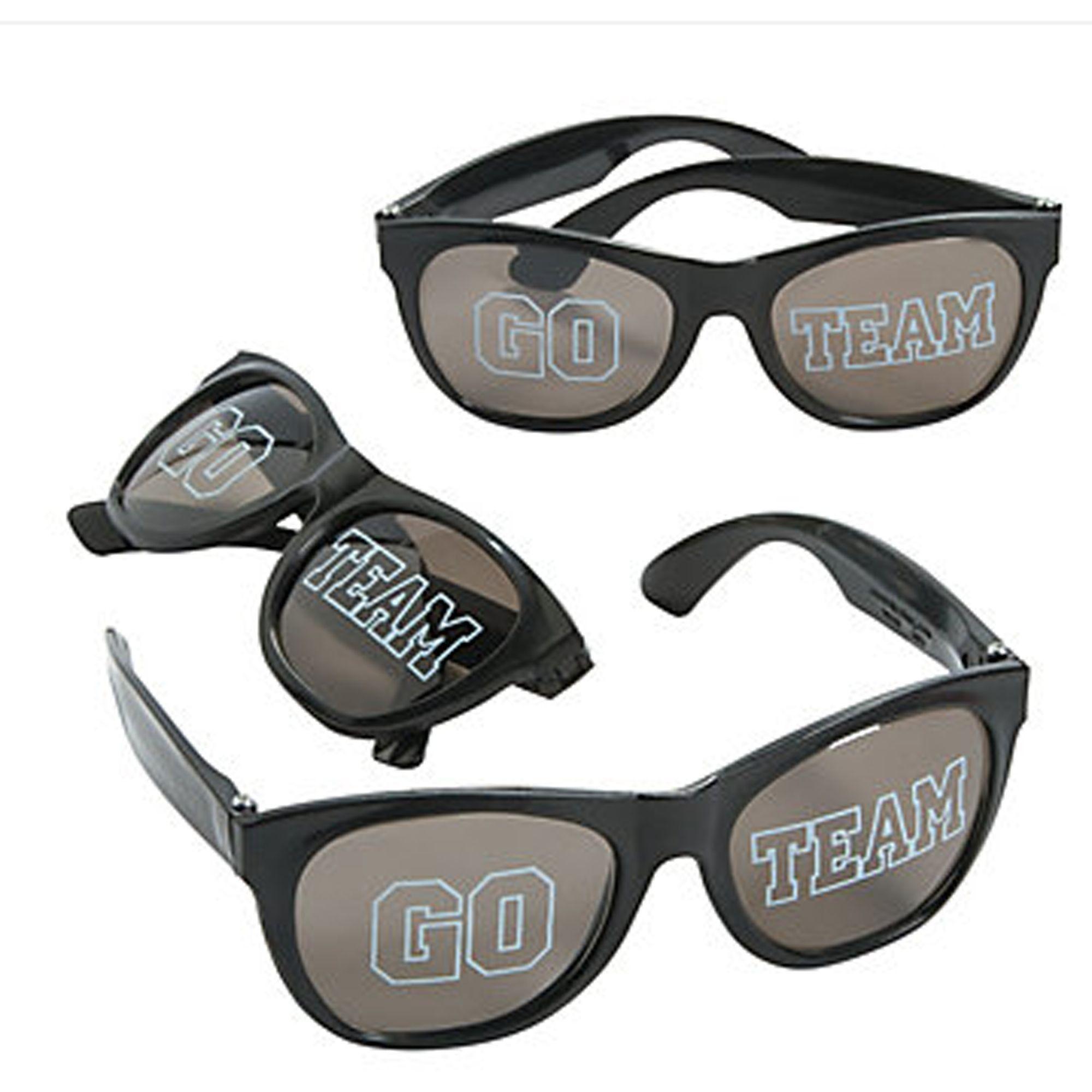 12 Go Team Black Sunglasses #13655831