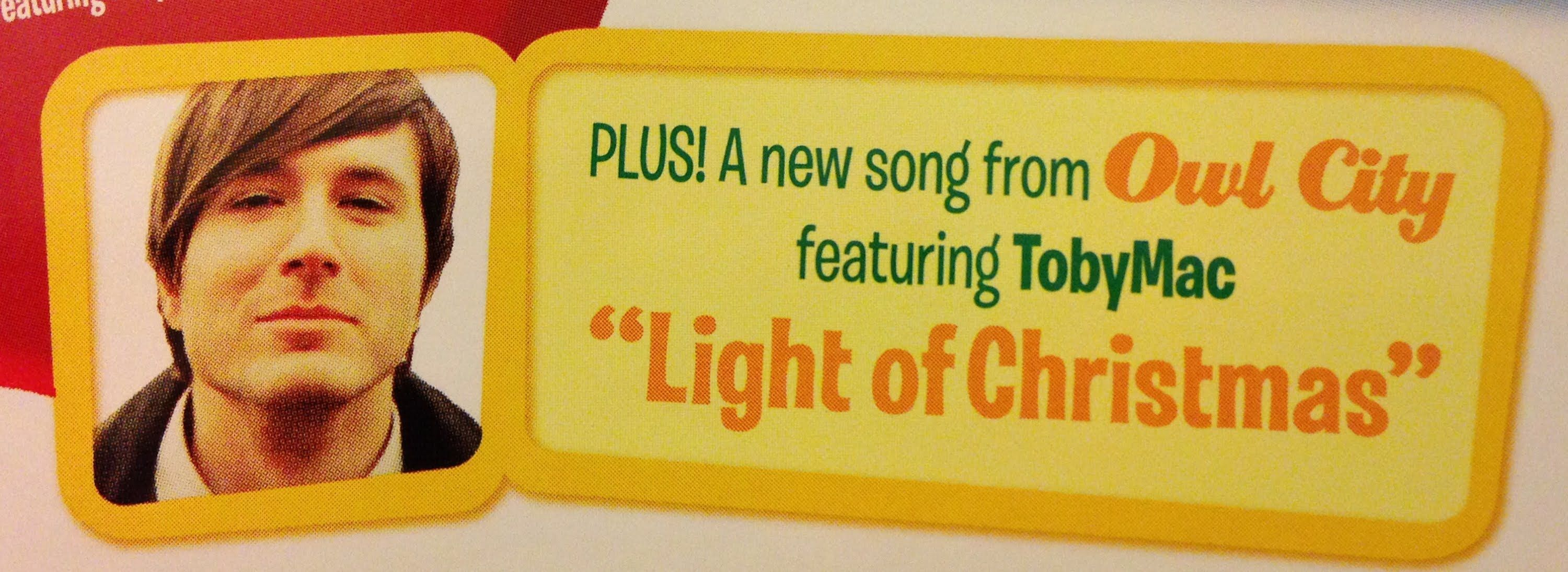 Light Of Christmas Lyrics.Check Out This New Christmas Song Now Playing On Air1 By Owl