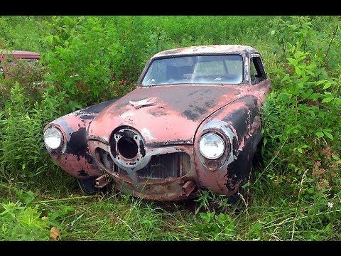 Tennessee Classic Car Junkyard Wrecked Vintage Muscle Cars