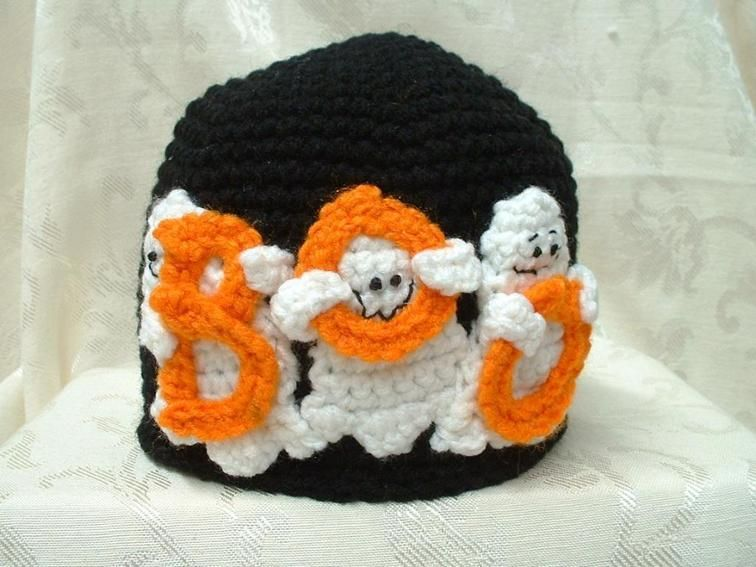 Ghostly Boo Hat Pattern   Craftsy