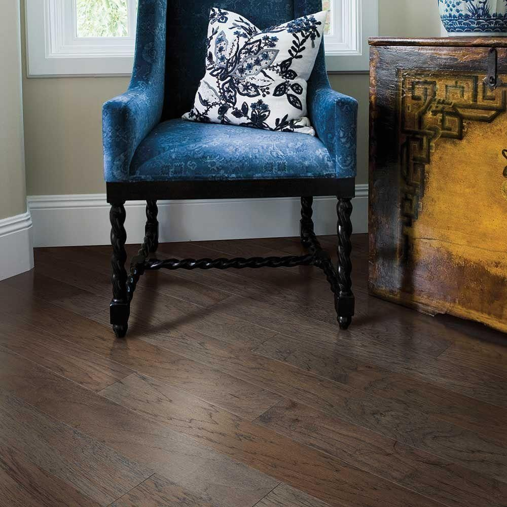 Mohawk Hamilton Weathered Hickory 3 8 In Thick X 5 In Wide X Random Length Engineered Hardwood Flooring 28 25 Sq Ft Case Hec92 89 The Home Depot Engineered Hardwood Flooring Engineered Hardwood Hardwood Floors