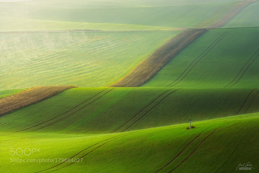 Beginning a new day in Moravia by JanekSedlar