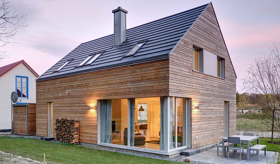 Lillesol in 2020 Contemporary cottage, Building a house