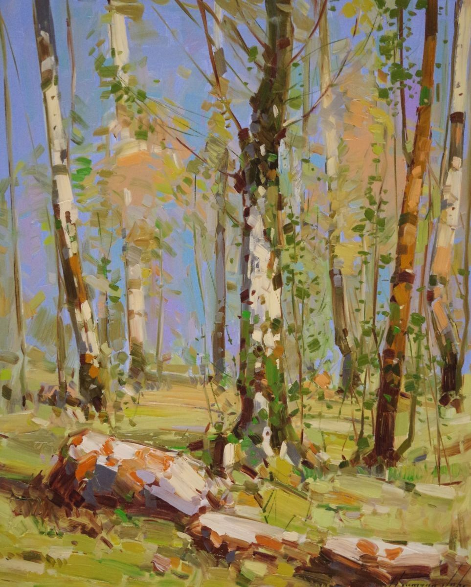 Vahe Yeremyan ~ Landscape Oil painting, One of a Kind 2015