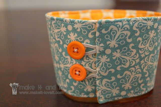 Easy Cozies for mini creams and coke cans!
