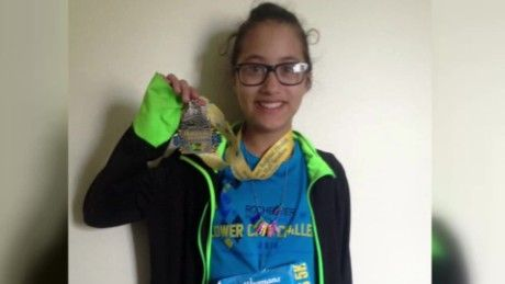 Instead of dropping out, she decided to keep running: 12-year old accidentally runs half marathon in stead of the 5K race she had planned for. #RunningInspiration