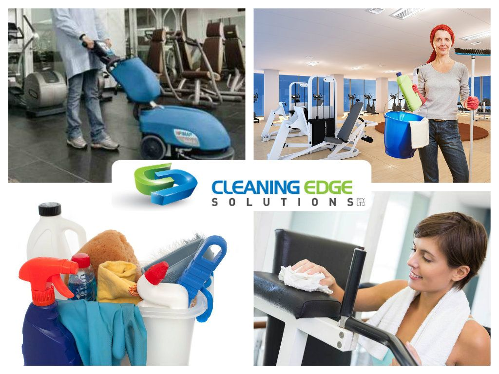 Gym and leisure centre cleaning services with images