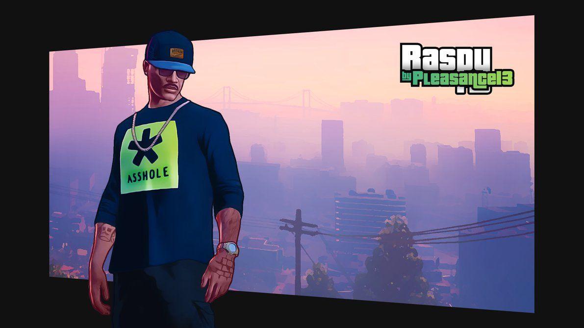 Raspy GTA Online Portrait by DJ1NNsGR1MO1R3