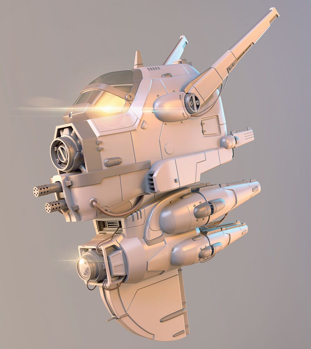 Sharpen your hardsurface modelling in 3ds Max (With