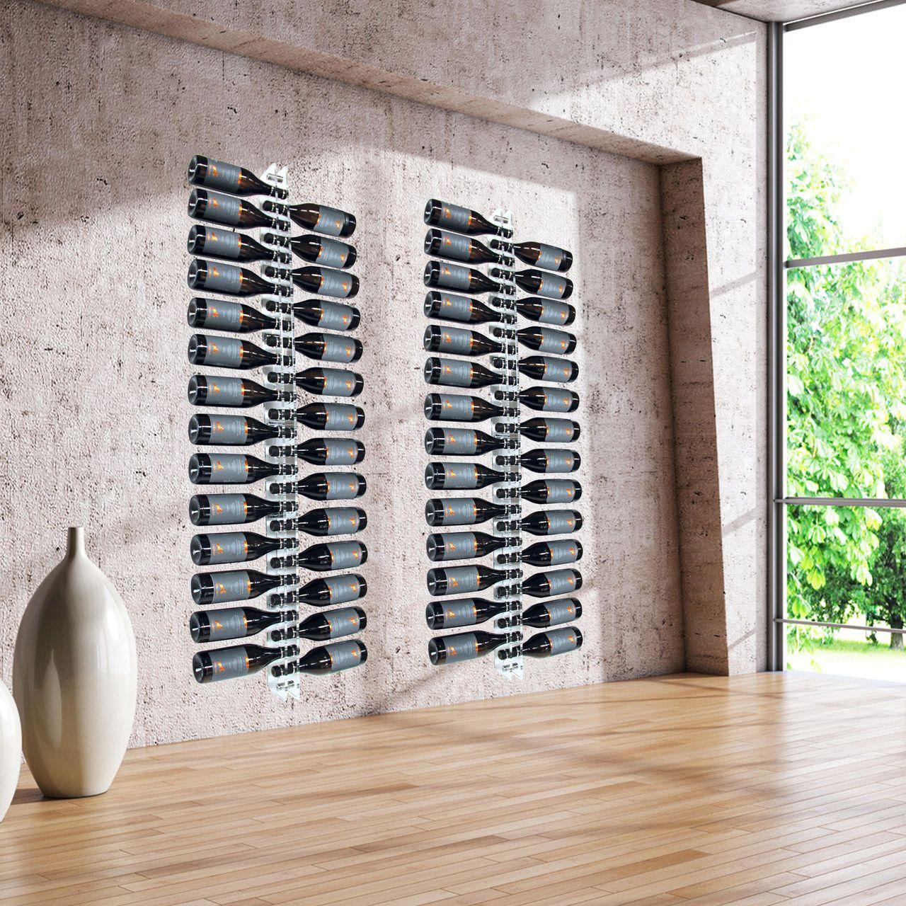 wand-weinregal ravenna aus acryl - flaschenregale-kunststoff ... - Weinregal Design Idee Wohnung Modern Bilder