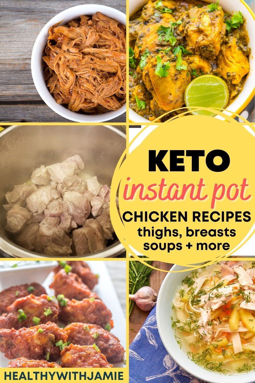 Easy Instant Pot Keto Chicken Recipes (Thighs, Bre