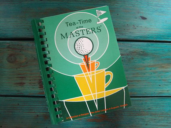 teatime at the masters a collection of recipes