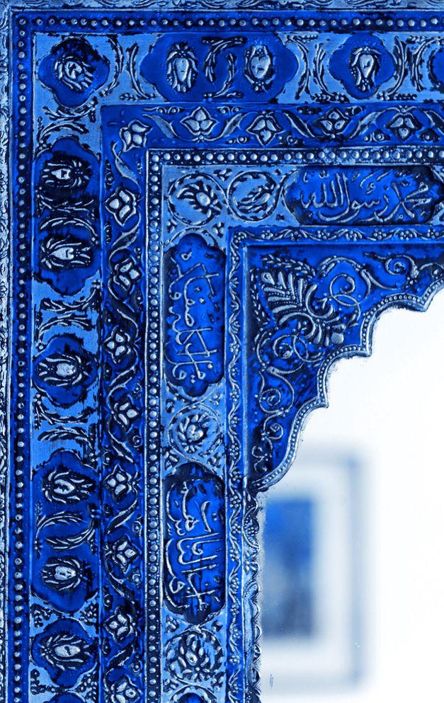 Marco azul Colours - Blue Pinterest Azul, Marcos y Tonos de azul