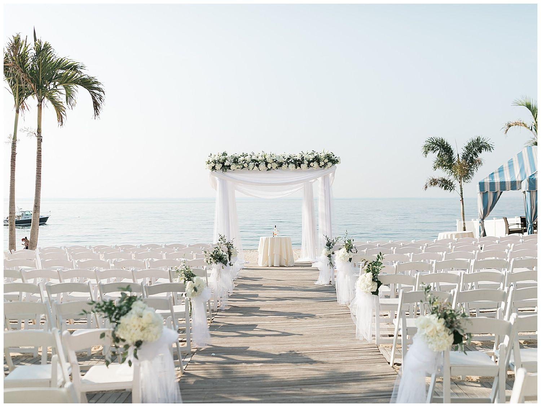 Clically Elegant Summer Wedding At Crescent Beach Club