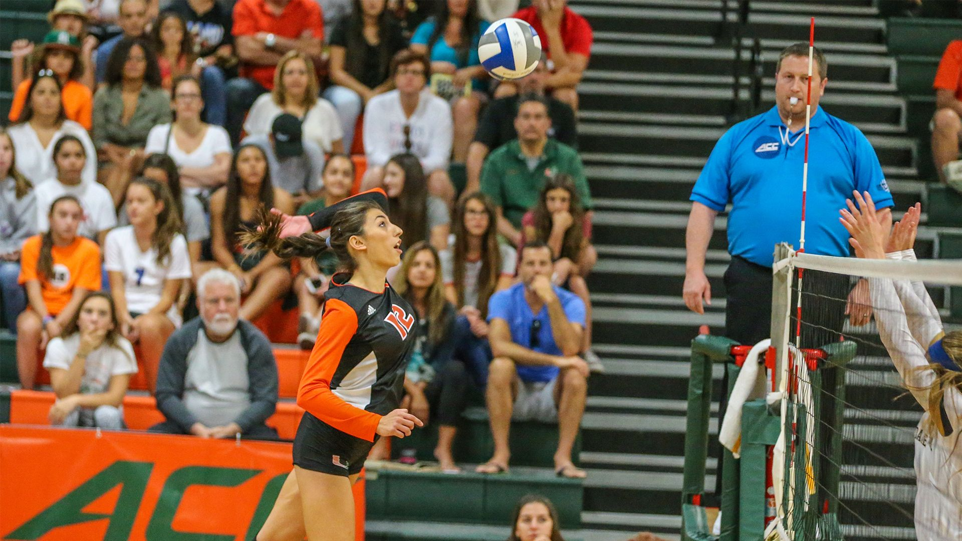 The University Of Miami Volleyball Program Will Host 10 Acc Home Matches And The Um Fiu Invitational As Part Of Volleyball News Volleyball University Of Miami