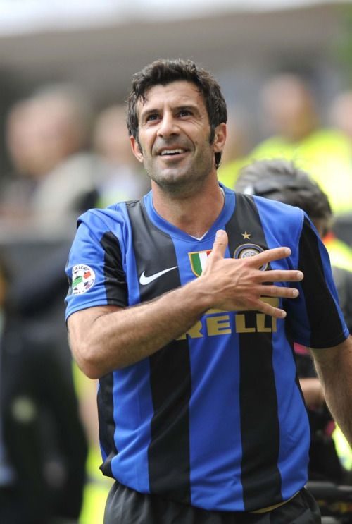 size 40 3fb73 cc3f1 Luis Figo à l'Inter Milan | Il Capitano | World football ...