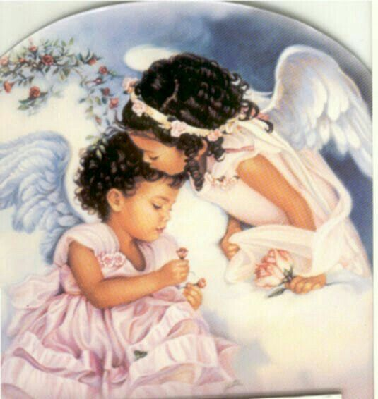 An Angel of Comfort | Angel pictures, Black angels, Angels ...
