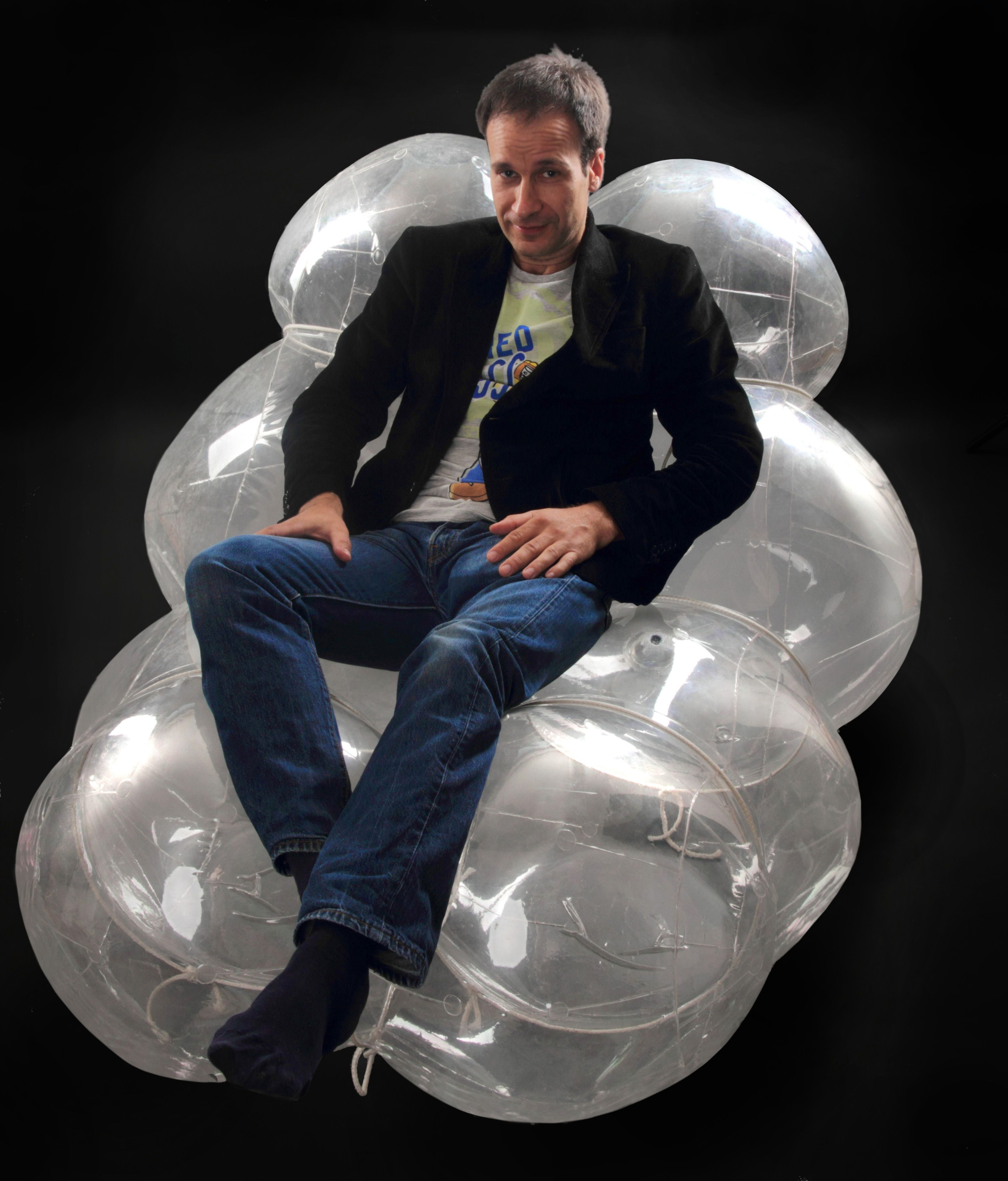 Barbairella Inflatable Long Chair Pneumocell Inflatable